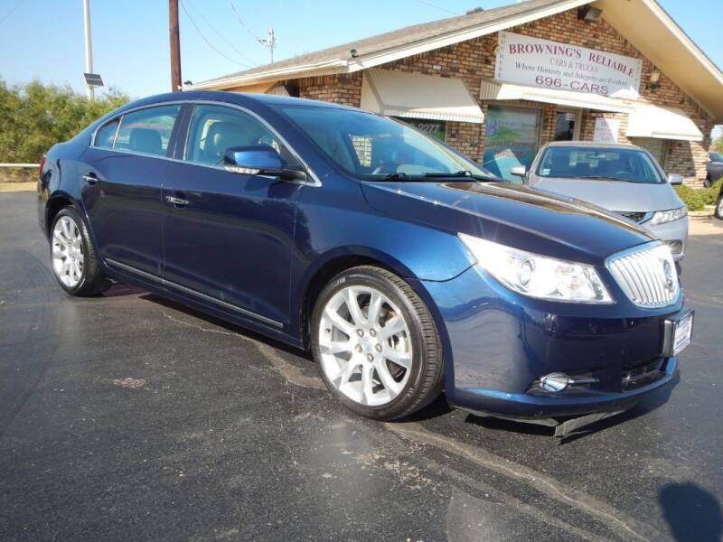 2010 Buick LaCrosse for sale at Browning's Reliable Cars & Trucks in Wichita Falls TX