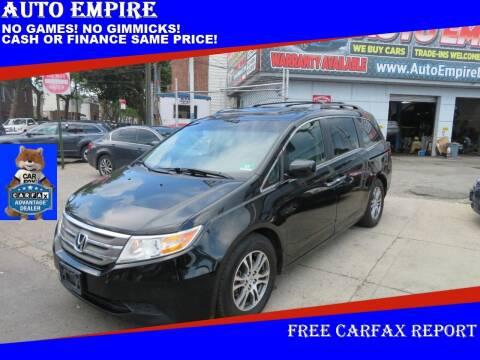 2012 Honda Odyssey for sale at Auto Empire in Brooklyn NY