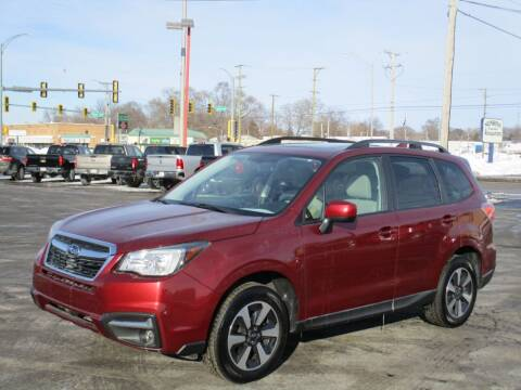 2018 Subaru Forester for sale at Windsor Auto Sales in Loves Park IL