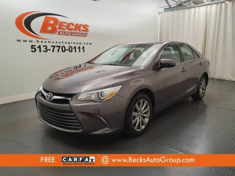 2015 Toyota Camry for sale at Becks Auto Group in Mason OH