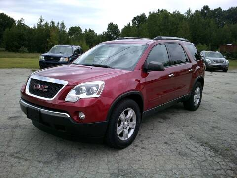 2012 GMC Acadia for sale at Route 111 Auto Sales in Hampstead NH