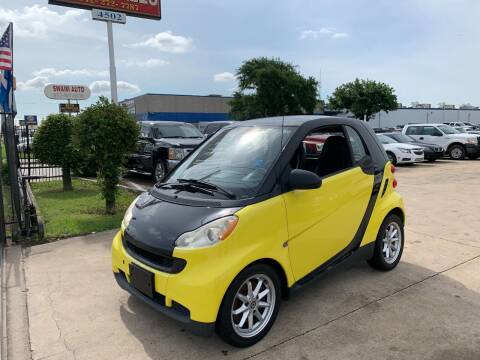 2008 Smart fortwo for sale at SP Enterprise Autos in Garland TX