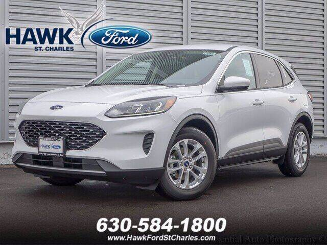 2020 Ford Escape for sale at Hawk Ford of St. Charles in Saint Charles IL