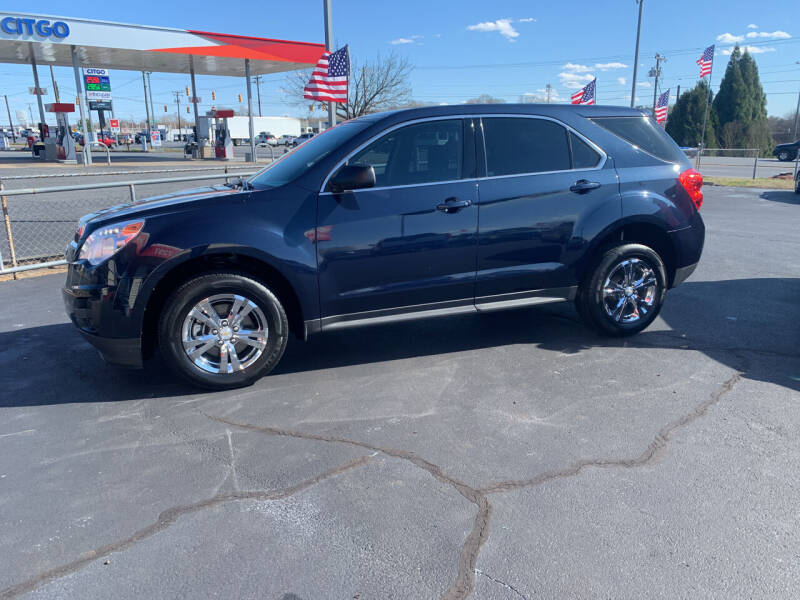 2015 Chevrolet Equinox for sale at Doug White's Auto Wholesale Mart in Newton NC