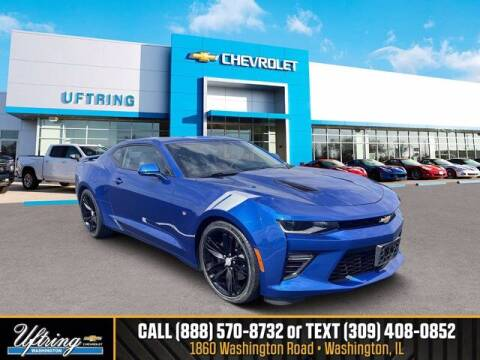 2018 Chevrolet Camaro for sale at Gary Uftring's Used Car Outlet in Washington IL