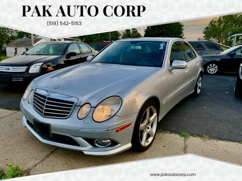 2009 Mercedes-Benz E-Class for sale at Pak Auto Corp in Schenectady NY
