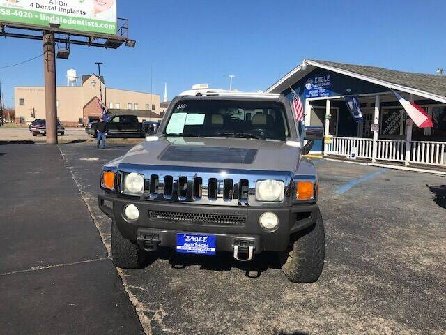 2006 HUMMER H3 for sale at EAGLE AUTO SALES in Lindale TX