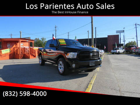 2013 RAM Ram Pickup 1500 for sale at Los Parientes Auto Sales in Houston TX