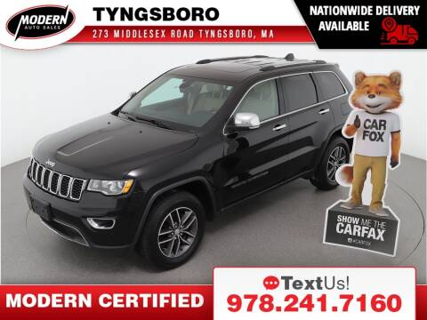 2018 Jeep Grand Cherokee for sale at Modern Auto Sales in Tyngsboro MA