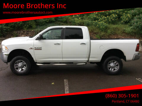 2014 RAM Ram Pickup 2500 for sale at Moore Brothers Inc in Portland CT