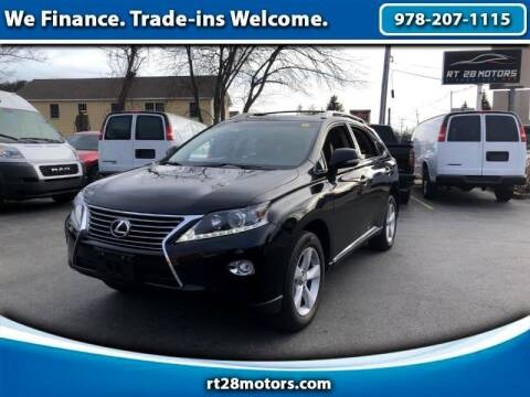 2015 Lexus RX 350 for sale at RT28 Motors in North Reading MA