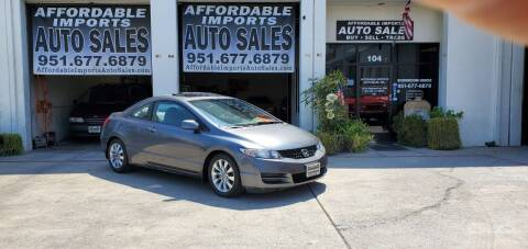 2009 Honda Civic for sale at Affordable Imports Auto Sales in Murrieta CA