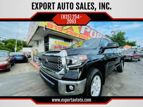 2019 Toyota Tundra for sale at EXPORT AUTO SALES, INC. in Nashville TN