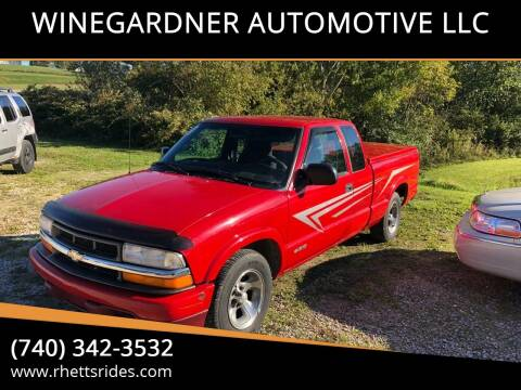2000 Chevrolet S-10 for sale at WINEGARDNER AUTOMOTIVE LLC in New Lexington OH