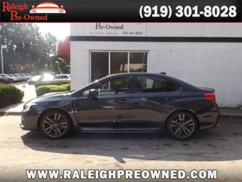 2016 Subaru WRX for sale at Raleigh Pre-Owned in Raleigh NC