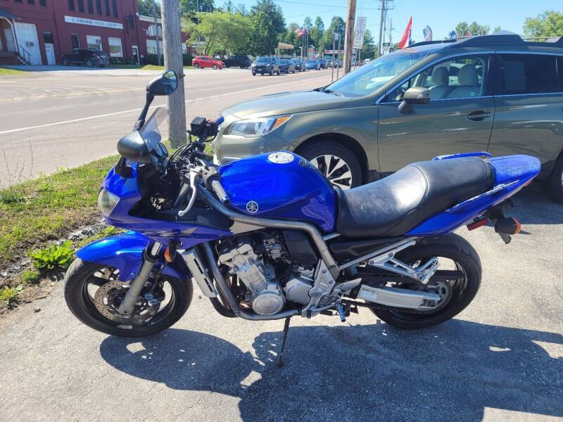 2001 Yamaha FZ1 for sale at Integrity Auto 2.0 in Saint Albans VT