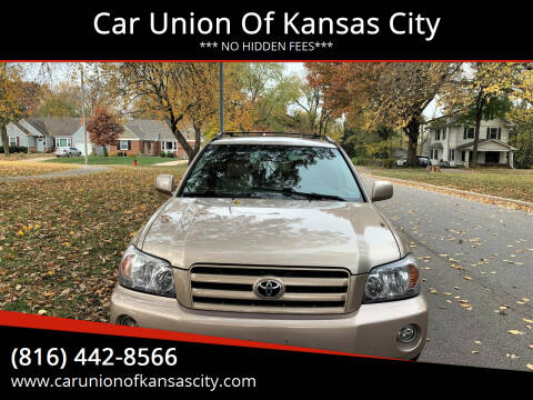 2006 Toyota Highlander for sale at Car Union Of Kansas City in Kansas City MO