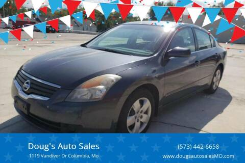 2008 Nissan Altima for sale at Doug's Auto Sales in Columbia MO