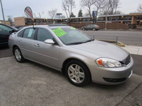 2007 Chevrolet Impala for sale at RON'S AUTO SALES INC - MAYWOOD in Maywood IL