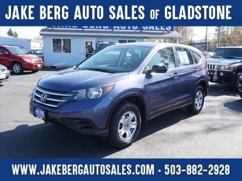 2013 Honda CR-V for sale at Jake Berg Auto Sales in Gladstone OR