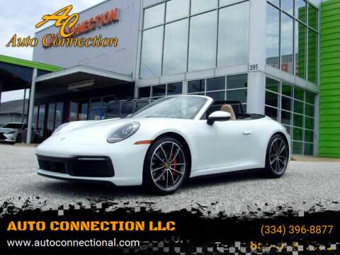 2020 Porsche 911 for sale at AUTO CONNECTION LLC in Montgomery AL