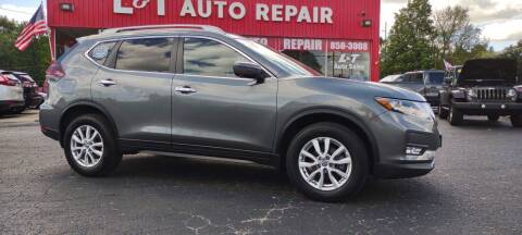 2018 Nissan Rogue for sale at L&T Auto Sales in Three Rivers MI