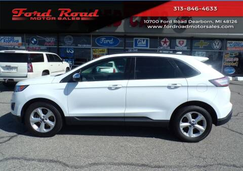 2015 Ford Edge for sale at Ford Road Motor Sales in Dearborn MI