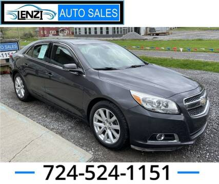 2013 Chevrolet Malibu for sale at LENZI AUTO SALES in Sarver PA