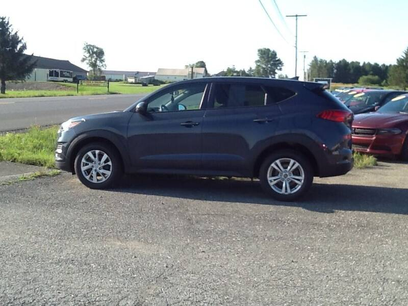 2019 Hyundai Tucson for sale at Garys Sales & SVC in Caribou ME
