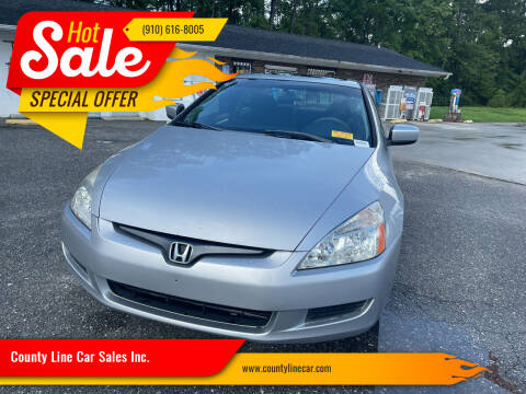 2005 Honda Accord for sale at County Line Car Sales Inc. in Delco NC