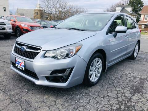 2016 Subaru Impreza for sale at 1NCE DRIVEN in Easton PA