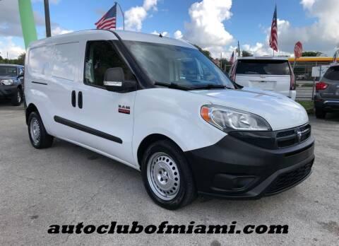 2015 RAM ProMaster City Cargo for sale at AUTO CLUB OF MIAMI, INC in Miami FL