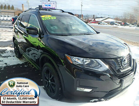 2018 Nissan Rogue for sale at Jon's Auto in Marquette MI
