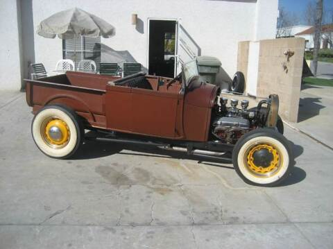 1929 Ford Roadster Pick Up for sale at HIGH-LINE MOTOR SPORTS in Brea CA