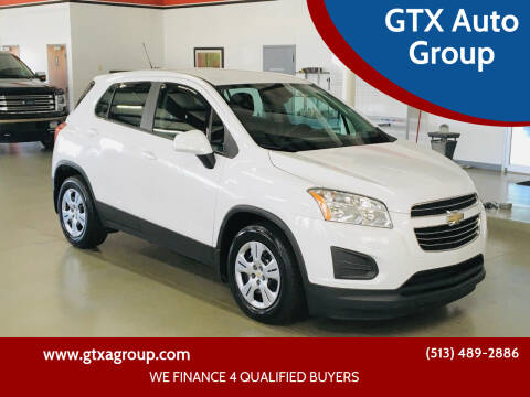 2016 Chevrolet Trax for sale at GTX Auto Group in West Chester OH
