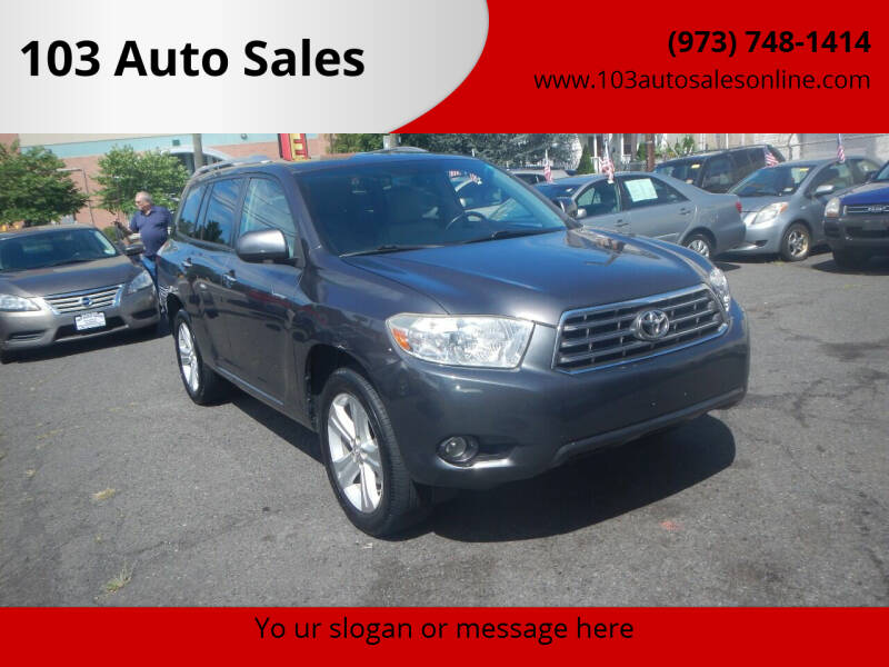 2010 Toyota Highlander for sale at 103 Auto Sales in Bloomfield NJ