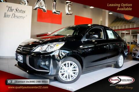 2021 Mitsubishi Mirage G4 for sale at Quality Auto Center in Springfield NJ