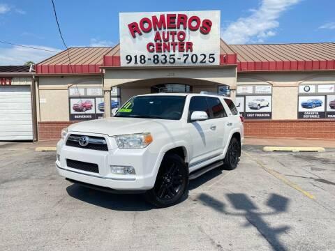 2011 Toyota 4Runner for sale at Romeros Auto Center in Tulsa OK