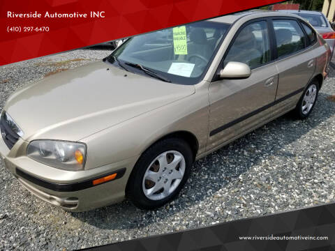 2006 Hyundai Elantra for sale at Riverside Automotive INC in Aberdeen MD