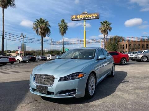 2013 Jaguar XF for sale at A MOTORS SALES AND FINANCE in San Antonio TX