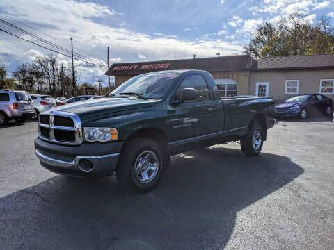 2003 Dodge Ram Pickup 1500 for sale at Worley Motors in Enola PA