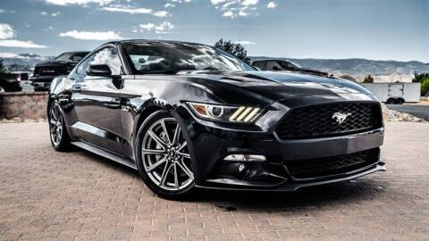 2016 Ford Mustang for sale at MUSCLE MOTORS AUTO SALES INC in Reno NV