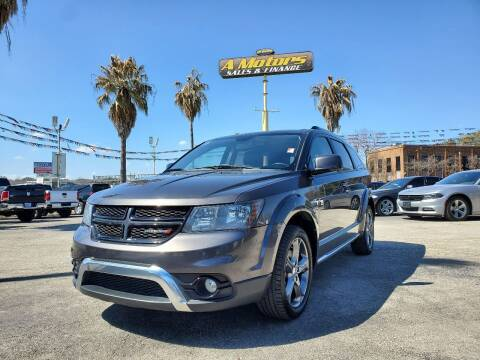 2017 Dodge Journey for sale at A MOTORS SALES AND FINANCE in San Antonio TX