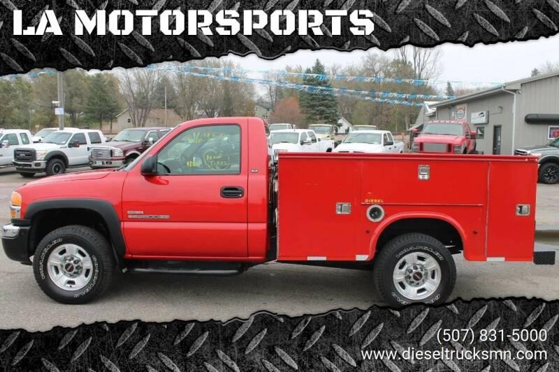 2005 GMC Sierra 2500HD for sale at LA MOTORSPORTS in Windom MN