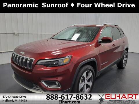 2019 Jeep Cherokee for sale at Elhart Automotive Campus in Holland MI