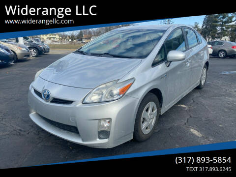 2010 Toyota Prius for sale at Widerange LLC in Greenwood IN