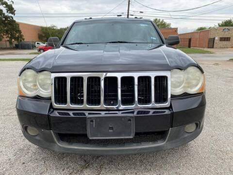 2009 Jeep Grand Cherokee for sale at Dynasty Auto in Dallas TX