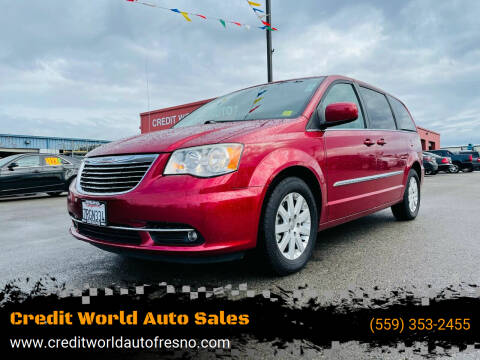 2014 Chrysler Town and Country for sale at Credit World Auto Sales in Fresno CA
