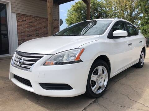 2013 Nissan Sentra for sale at Wolff Auto Sales in Clarksville TN
