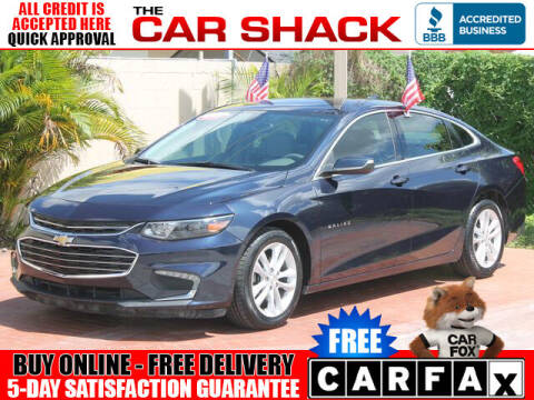 2016 Chevrolet Malibu for sale at The Car Shack in Hialeah FL